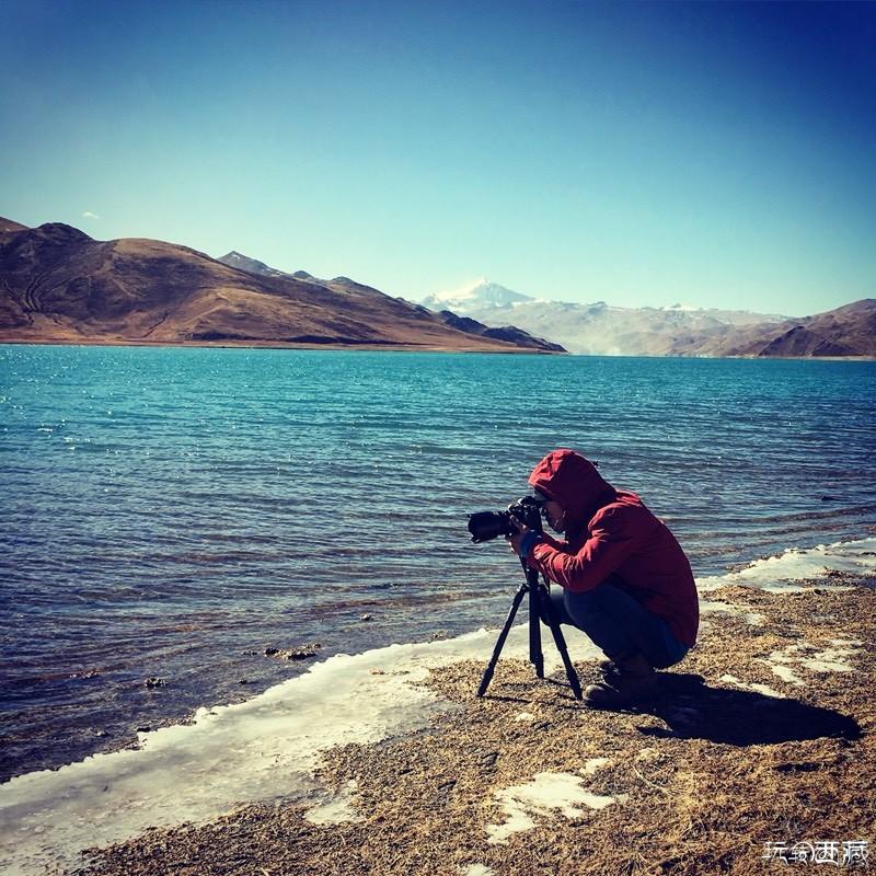冬日里的西藏圣湖-羊卓雍错