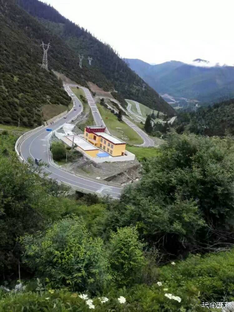最美景观大道一一一318国道川藏线