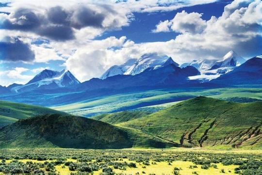 西藏那曲-念青唐古拉山,念青唐古拉山,那曲