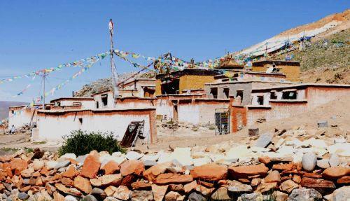 西藏阿里直达布日寺,噶尔县,寺庙,直达布日寺