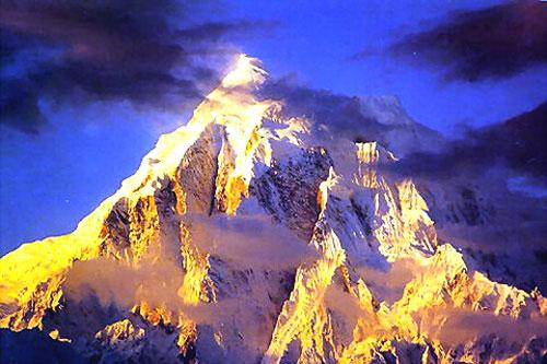 西藏林芝-南迦巴瓦峰,南迦巴瓦峰,西藏