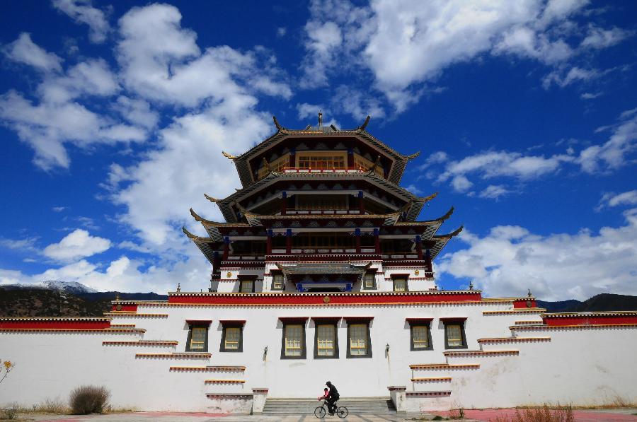 西藏林芝-尼洋阁,西藏