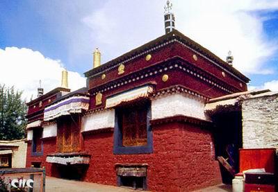 西藏山南-昌珠寺,西藏