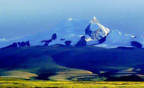 西藏日喀则-希夏邦马峰,日喀则,西藏