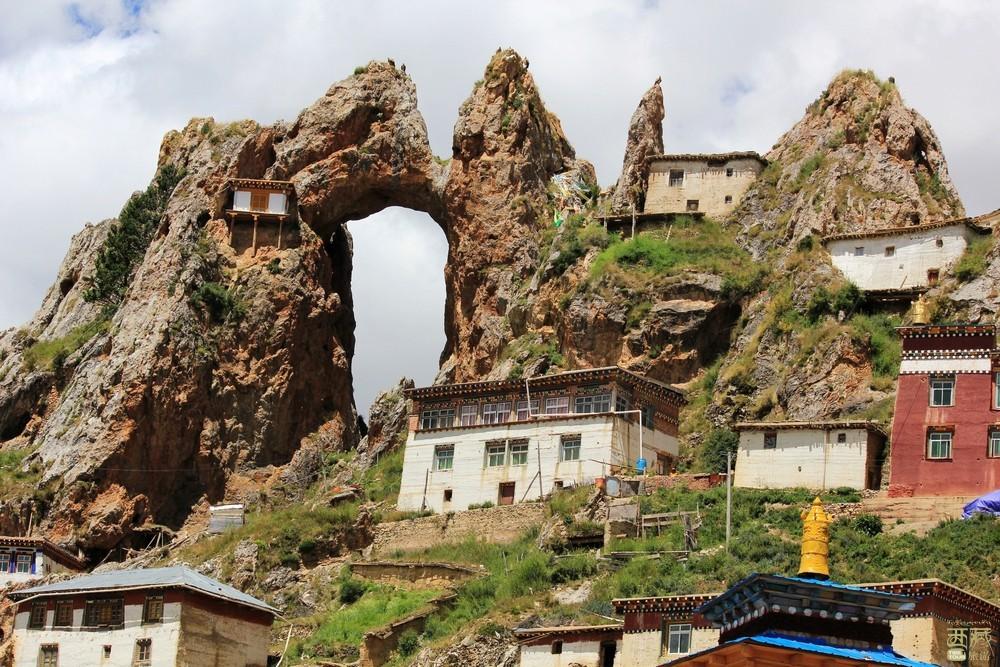 西藏昌都-丁青孜珠寺,西藏,昌都,丁青