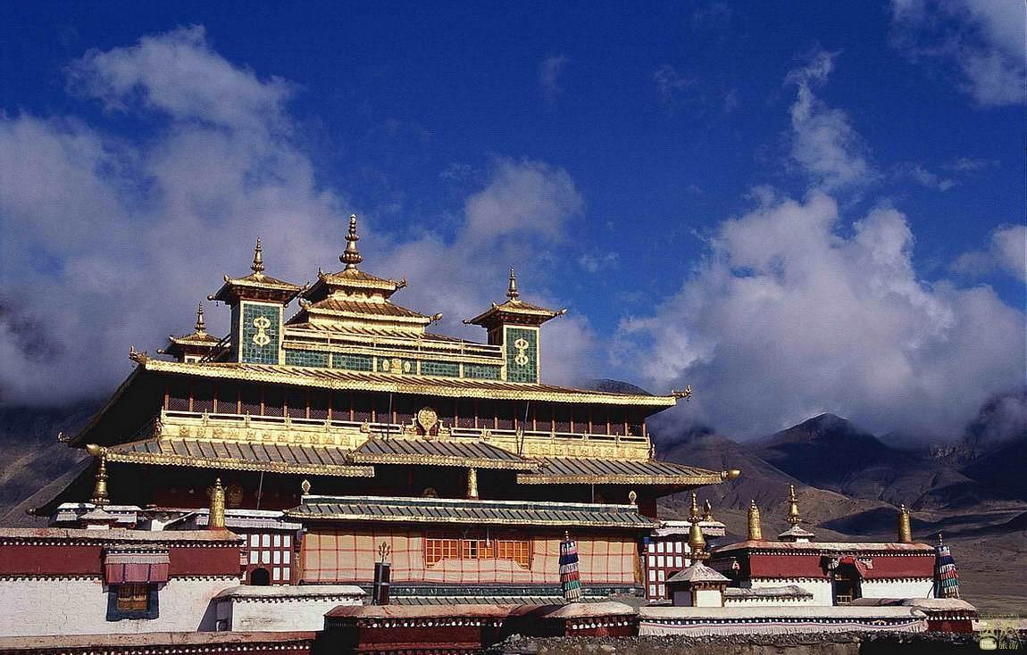 西藏日喀则-夏鲁寺,日喀则,西藏