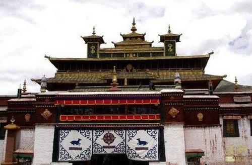 西藏山南-桑噶方托寺,西藏