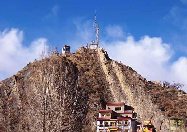 西藏拉萨-药王山,西藏,拉萨
