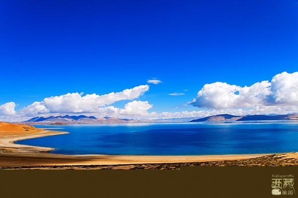 西藏阿里-拉昂错(鬼湖),咸水湖,西藏,阿里,圣湖