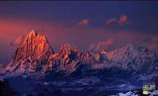 西藏昌都-德青波章神山,西藏,昌都,神山