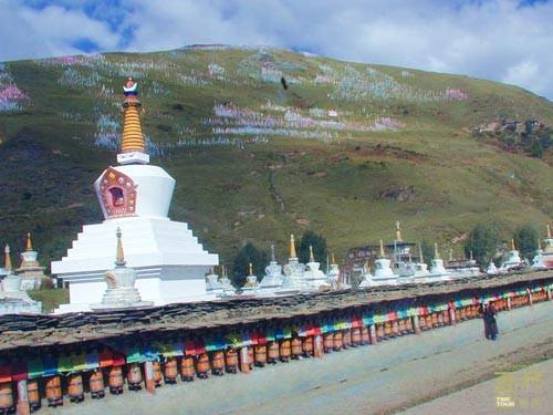 西藏昌都-卡玛多塔林,西藏,昌都