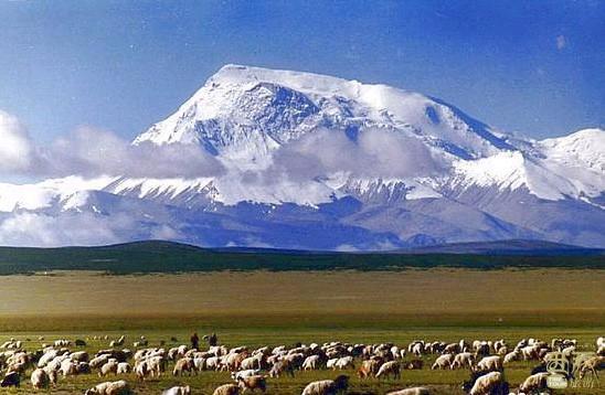 西藏阿里-纳木那尼峰,西藏,阿里