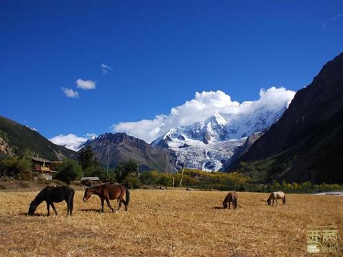 西藏昌都-八堆神山,公园,马鞍山,格萨尔,传说,藏传佛教