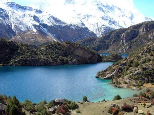 西藏昌都-卓玛郎措湖,西藏,昌都