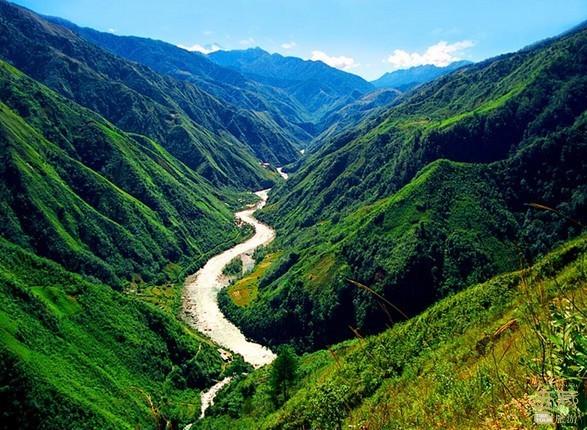 西藏昌都-怒江峡谷,西藏,怒江,昌都