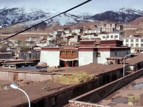 西藏昌都-香堆寺,西藏,昌都