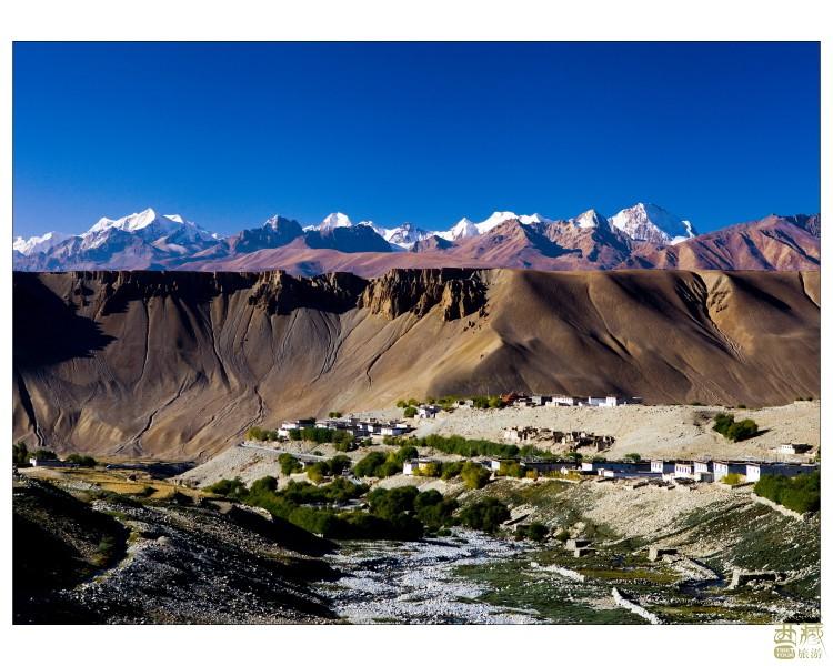 西藏阿里-孔雀河谷,西藏,阿里