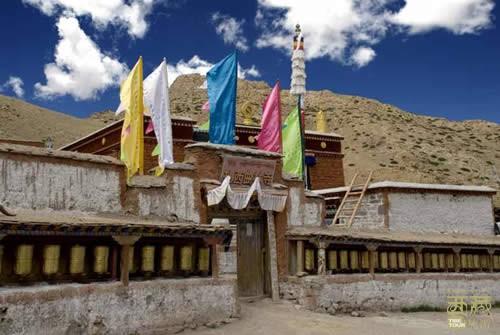 西藏阿里-扎西曲林寺,西藏,阿里