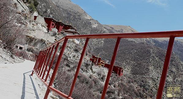 西藏山南-桑日县丹萨梯寺,西藏,风景