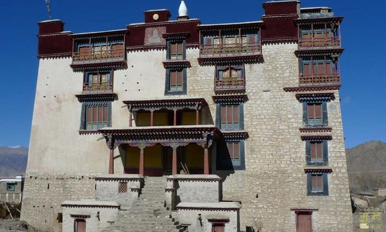 西藏山南-朗色林庄园,西藏