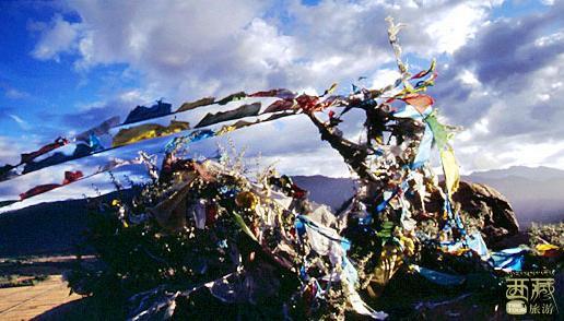 西藏山南-哈布日神山,莲花生,桑耶寺,西藏,山东,神山