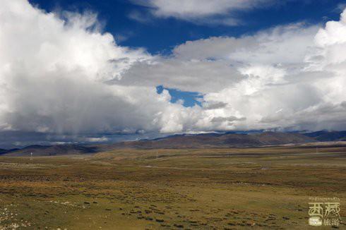 西藏山南-邱多江草原,西藏