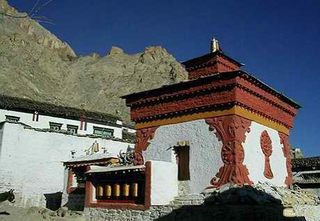西藏山南-日果曲德寺,西藏