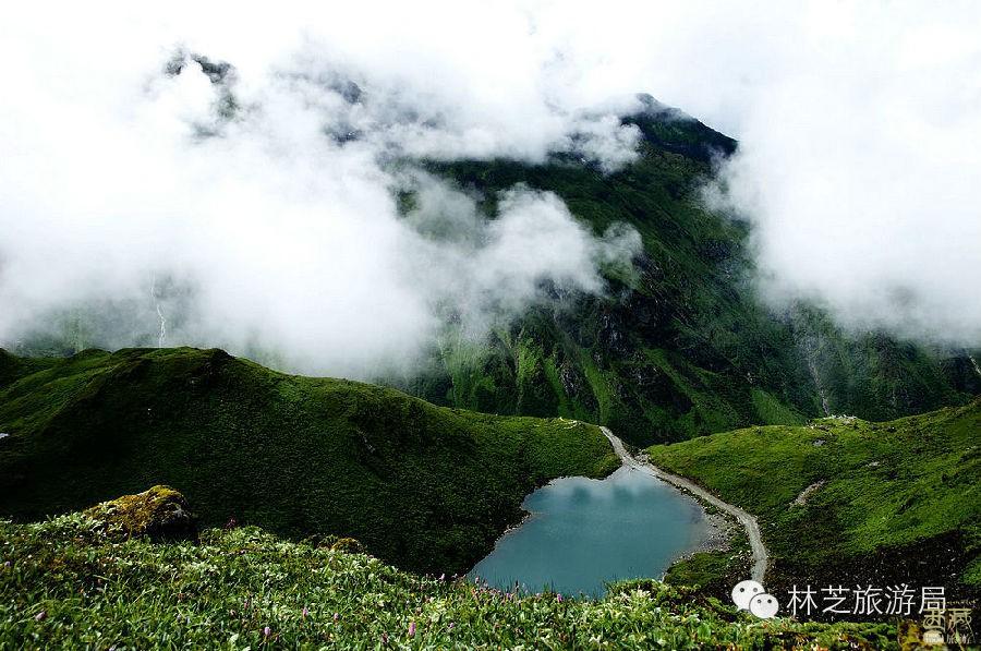 西藏林芝-嘎瓦龙天池,西藏,天池