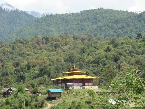 西藏林芝-清心宁静喇嘛岭寺,西藏