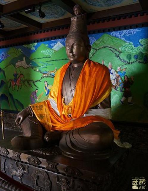 西藏拉萨-松赞干布纪念馆,松赞干布,纪念馆,西藏,拉萨