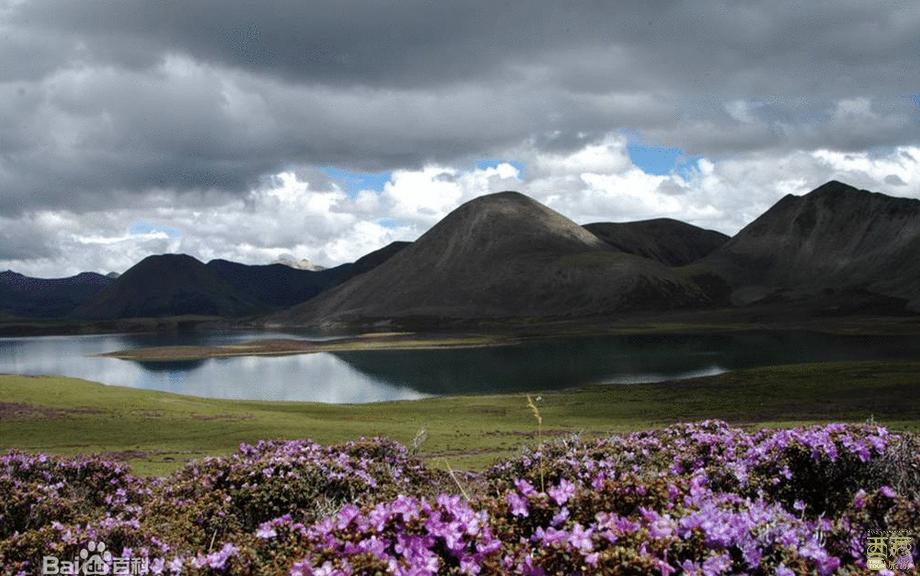 西藏拉萨-思金拉措,西藏,拉萨