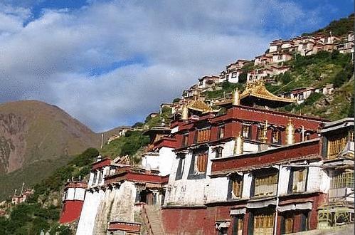 西藏拉萨-直贡梯寺,西藏,西藏自治区,墨竹工卡,藏传佛教,创始人