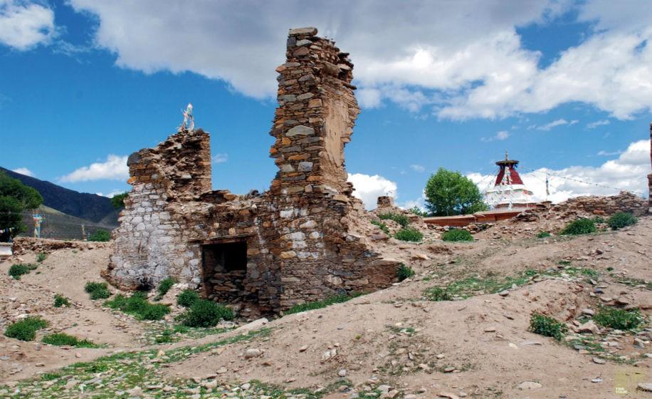 西藏拉萨-霍尔康庄园遗址,西藏,霍尔,拉萨