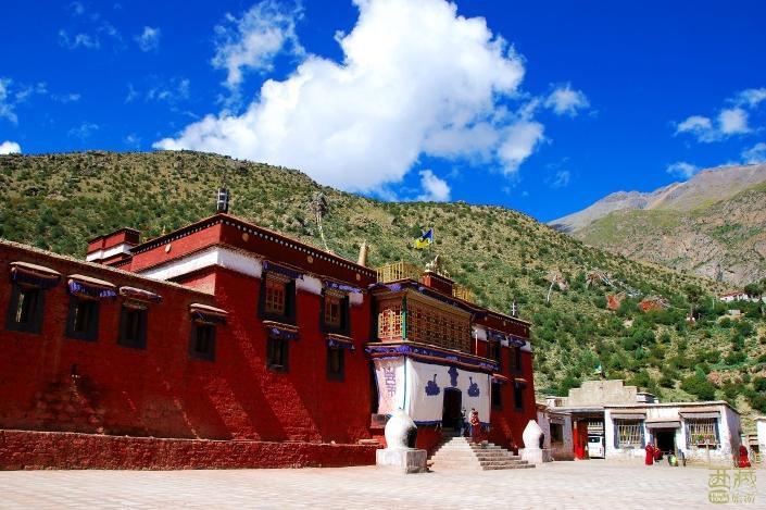 西藏拉萨-乃朗寺,西藏,拉萨