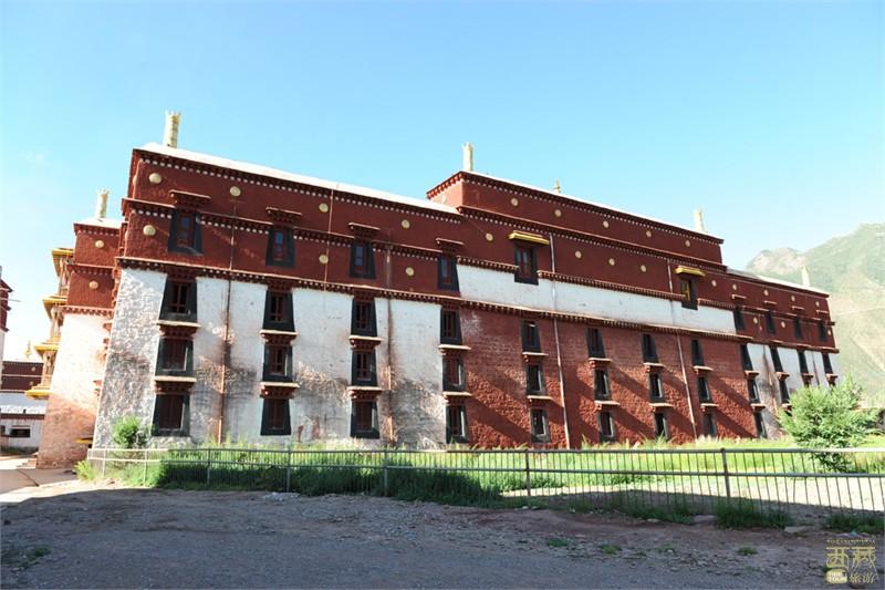西藏拉萨-洛普寺,西藏,拉萨
