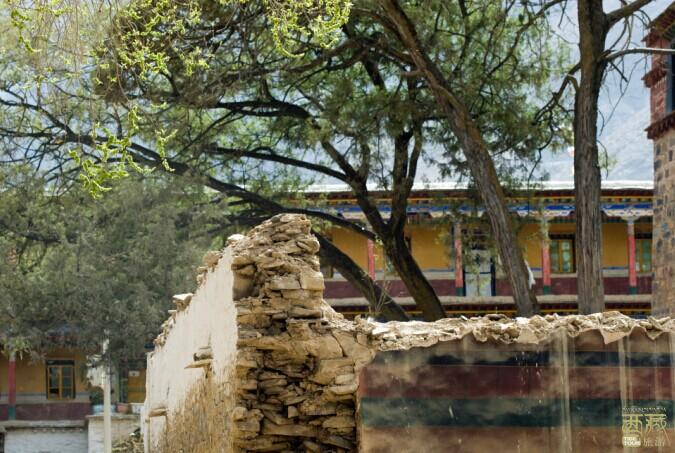 西藏山南-敏竹林寺,西藏