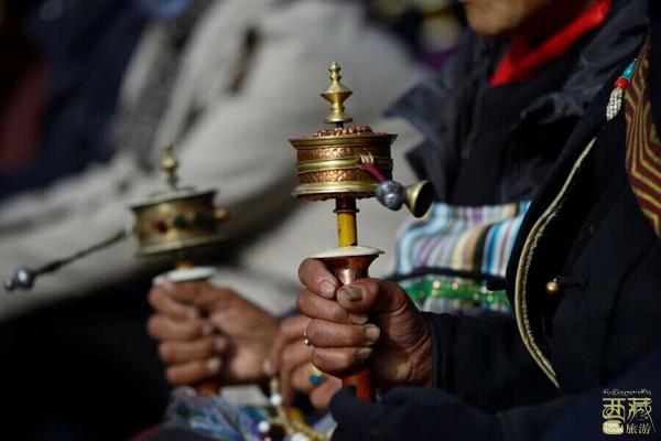 西藏拉萨-桑丹林寺,西藏,拉萨