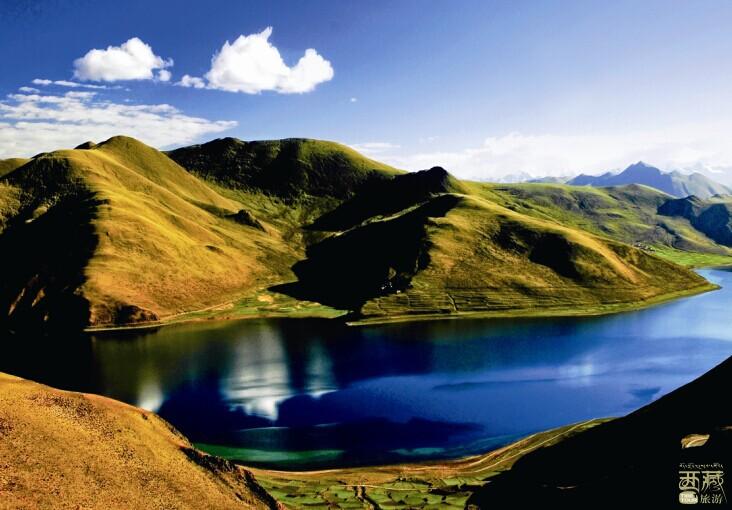 西藏山南-羊卓雍错,西藏