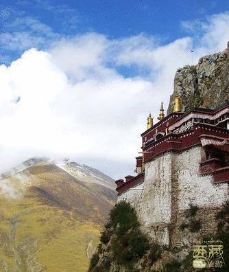 西藏拉萨-扎耶巴寺,西藏,拉萨