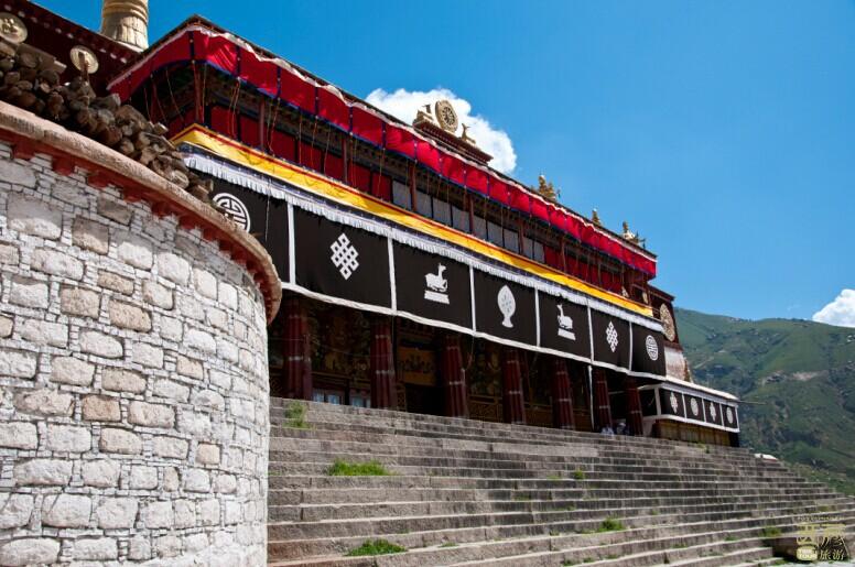 西藏拉萨-哲蚌寺,哲蚌寺,藏传佛教,格鲁派
