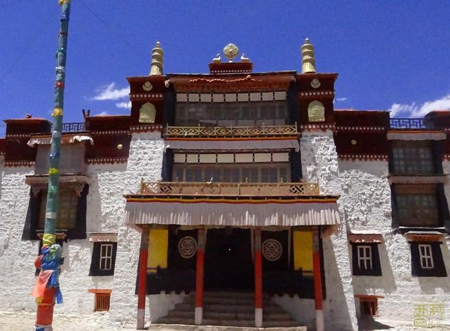 西藏日喀则-曲德寺,日喀则,西藏