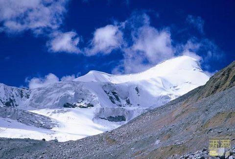西藏那曲-桑丹康桑雪山,西藏,那曲