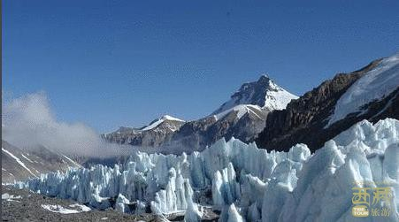 西藏日喀则-绒布冰川,日喀则,西藏