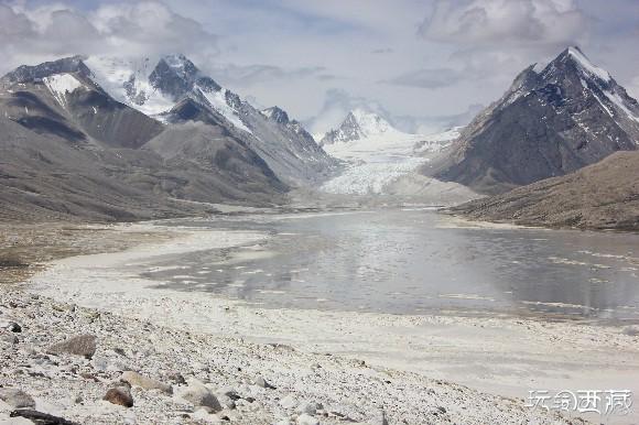 西藏日喀则-杰马央宗冰川,日喀则,西藏