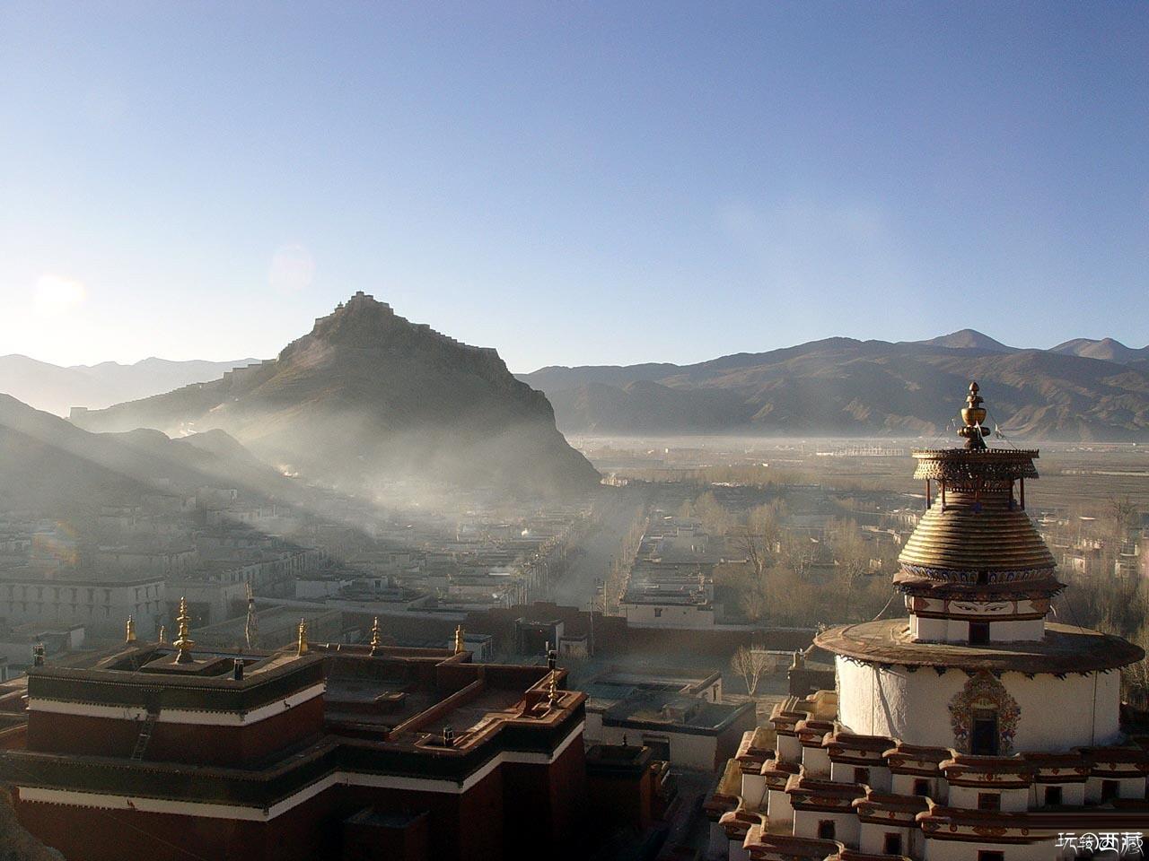 西藏日喀则景点-江孜县