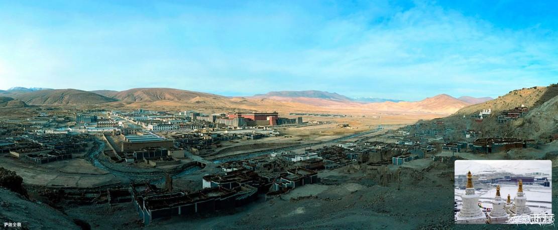 西藏日喀则景点-萨迦县,日喀则,西藏,景点