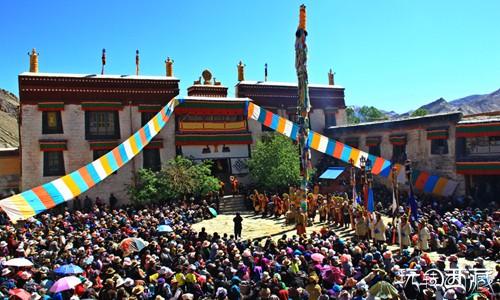 西藏日喀则景点-南尼寺(乃宁曲德寺)