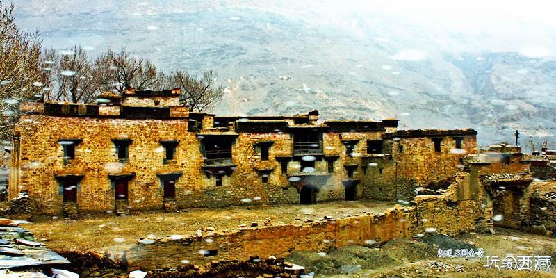 西藏日喀则景点-朗通庄园,日喀则,西藏,景点