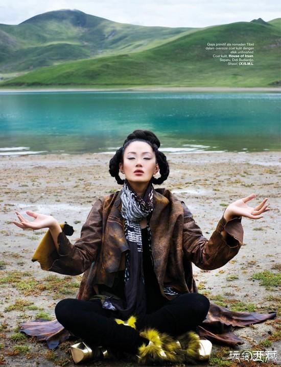 【美图人物】当西藏邂逅时尚,西藏游记,西藏心灵,西藏百科,西藏户外,西藏攻略