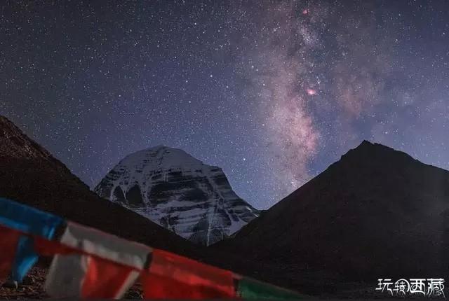 【西藏美图】夜幕下的西藏,哪个地方最美?,西藏,美图